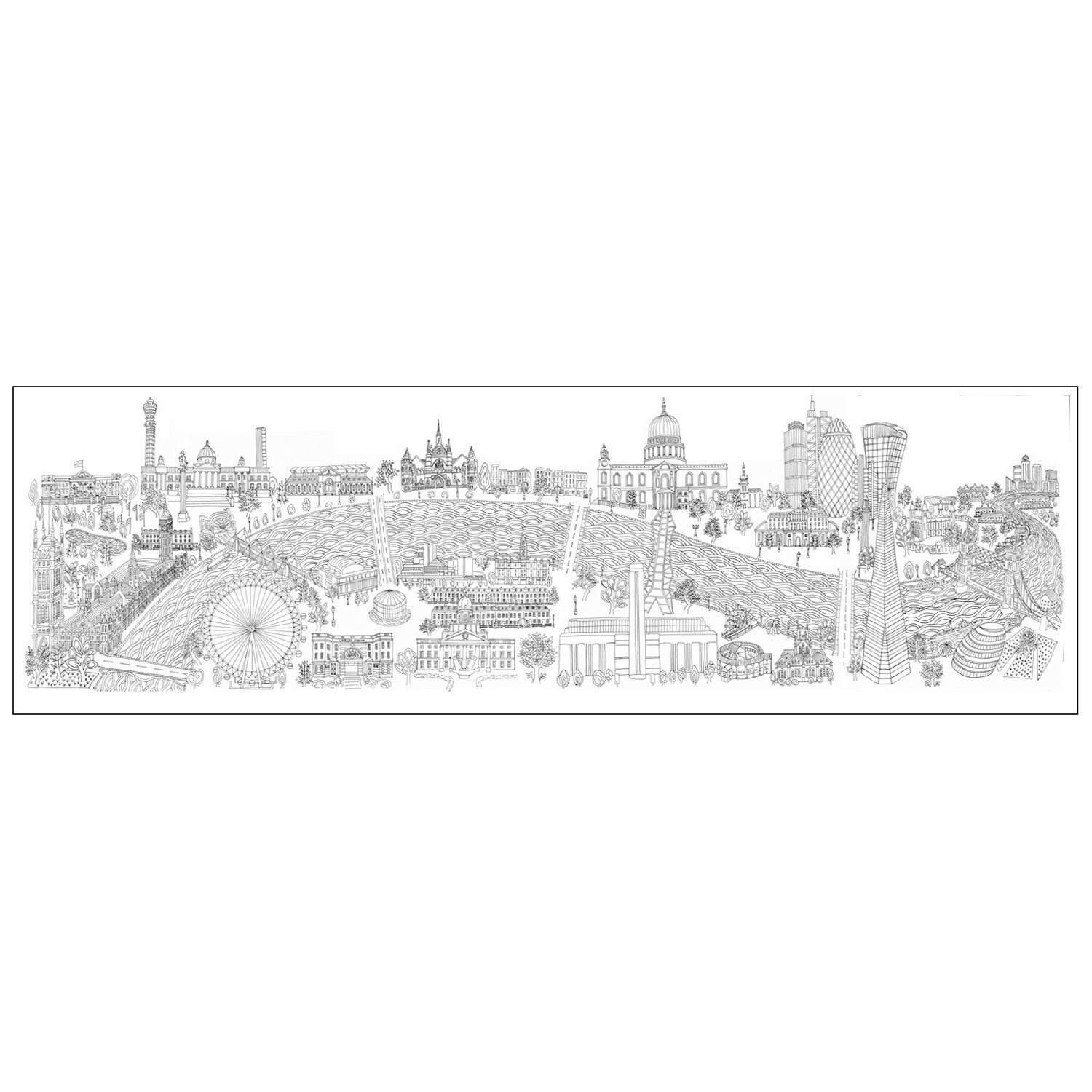 LONDON PANORAMA - LIMITED EDITION PRINTS Printed in the UK, using the highest quality archival paper and highest quality inks. Sizes available: Large – 1500 mm x 430 mm. Edition of 50 Medium – 610 mm x 220 mm. Edition of 250